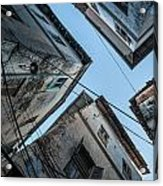 Stone Town From Below Acrylic Print
