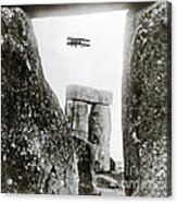 Stonehenge 1914 Acrylic Print by Science Source