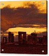 Stonehenge 6 Acrylic Print