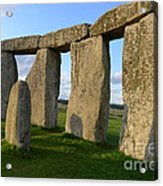 Stonehenge And Shadows Acrylic Print