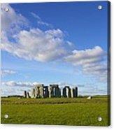 Stonehenge  Acrylic Print by Jennifer Lamanca Kaufman