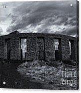 Stonehenge Of America Acrylic Print