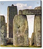 Stonehenge Panorama Acrylic Print