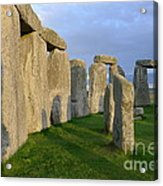 Stonehenge Stones Acrylic Print