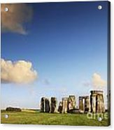 Stonehenge Summer Evening Acrylic Print by Colin and Linda McKie