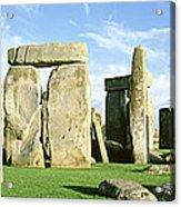 Stonehenge, Wiltshire, England, United Acrylic Print