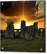 Stonehenge Wiltshire Uk Acrylic Print