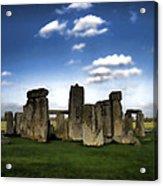 Stonehenged Again Acrylic Print