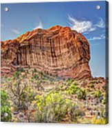 Stones Of The West Acrylic Print by Wanda Krack