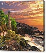 Stoney Cove Lighthouse Acrylic Print