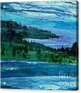Stonington Sideways Acrylic Print