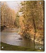 Stony Brook Acrylic Print