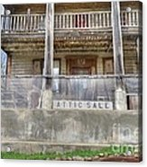 Stopping For A Bite To Eat On The Underground Railroad Acrylic Print