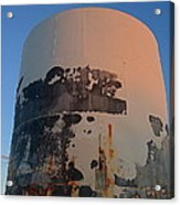 Storage Container Moon Coolidge Arizona 2004 Acrylic Print