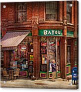 Store - Albany Ny -  The Bayou Acrylic Print by Mike Savad