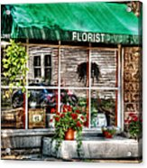 Store - Florist Acrylic Print