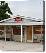 Store Front Of Days Past Acrylic Print
