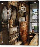 Store - Turn Of The Century Soda Fountain Acrylic Print