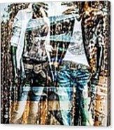 Store Window Display Acrylic Print