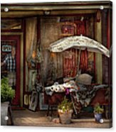 Storefront - Frenchtown Nj - The Boutique Acrylic Print