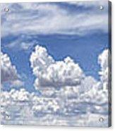 Storm Approaching Panorama Acrylic Print