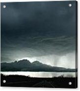 Storm At Admore Acrylic Print