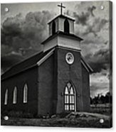 Storm At San Rafael Church Acrylic Print