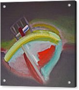 Storm Beach Acrylic Print