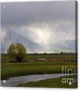Storm Break Acrylic Print