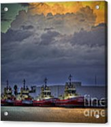 Storm Brewing Acrylic Print by Marvin Spates