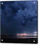 Storm Cell Over Lubec Maine Acrylic Print