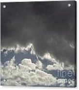 Storm Cloud Overhead Acrylic Print