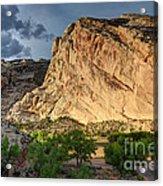 Storm Clouds Above Split Mountain Dinosaur National Monument Acrylic Print