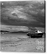 Storm Clouds Coming Acrylic Print
