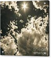 Storm Clouds Gathering Acrylic Print