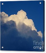Storm Clouds In The Evening Acrylic Print