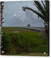 Storm Clouds Near Port Lavaca Acrylic Print
