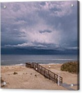 Storm Clouds On The Outer Banks Acrylic Print