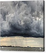 Storm Clouds Over Charleston South Carolina Acrylic Print