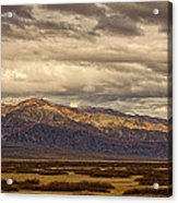 Storm Clouds Over Snowy Peaks #2 Acrylic Print