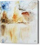 Storm Acrylic Print by Draia Coralia