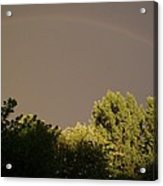 Storm Effects Rainbow With Highlights Acrylic Print