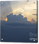 Storm Front Approaching Acrylic Print