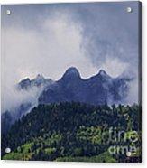 Storm In The San Juan Mountains Acrylic Print