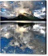 Storm Mountain Acrylic Print
