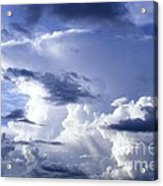 Storm Of Namibia Acrylic Print