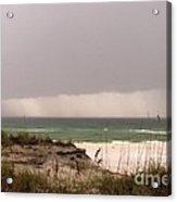 Storm Offshore At Destin Florida Acrylic Print