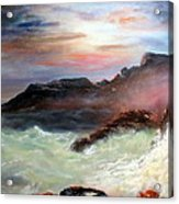 Storm On Mount Desert Island Acrylic Print