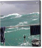 Storm On Tasman Sea Acrylic Print