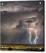Storm Over Albuquerque Acrylic Print